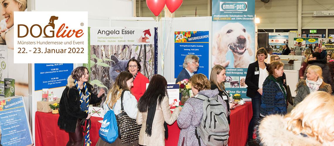 DogLive 2022 - Münster Hundemesse und Event
